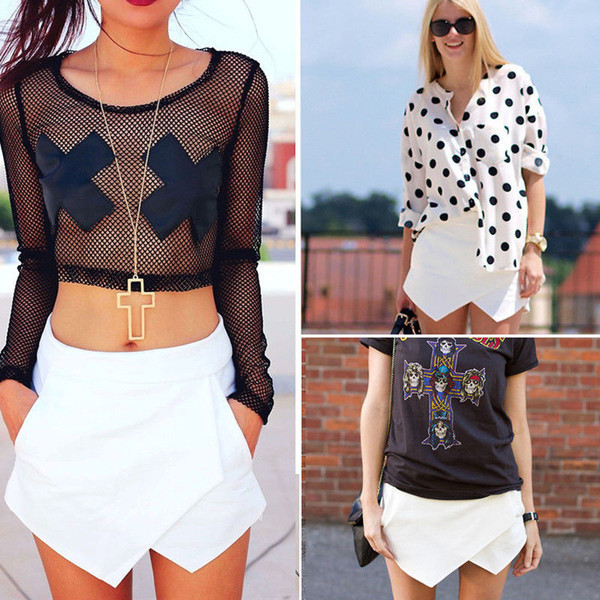 shorts t-shirt shirt jewels