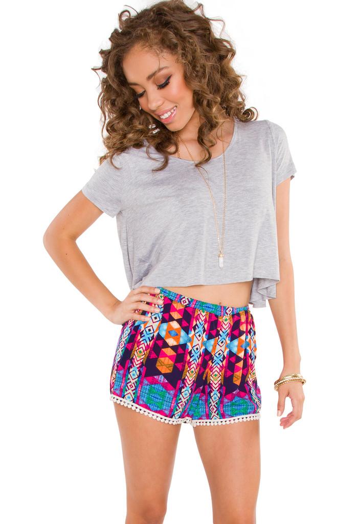 Shine Bright Pom Pom Shorts