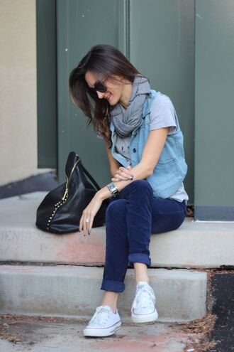t-shirt shoes pants jacket sunglasses frankie hearts fashion scarf white blue light blue