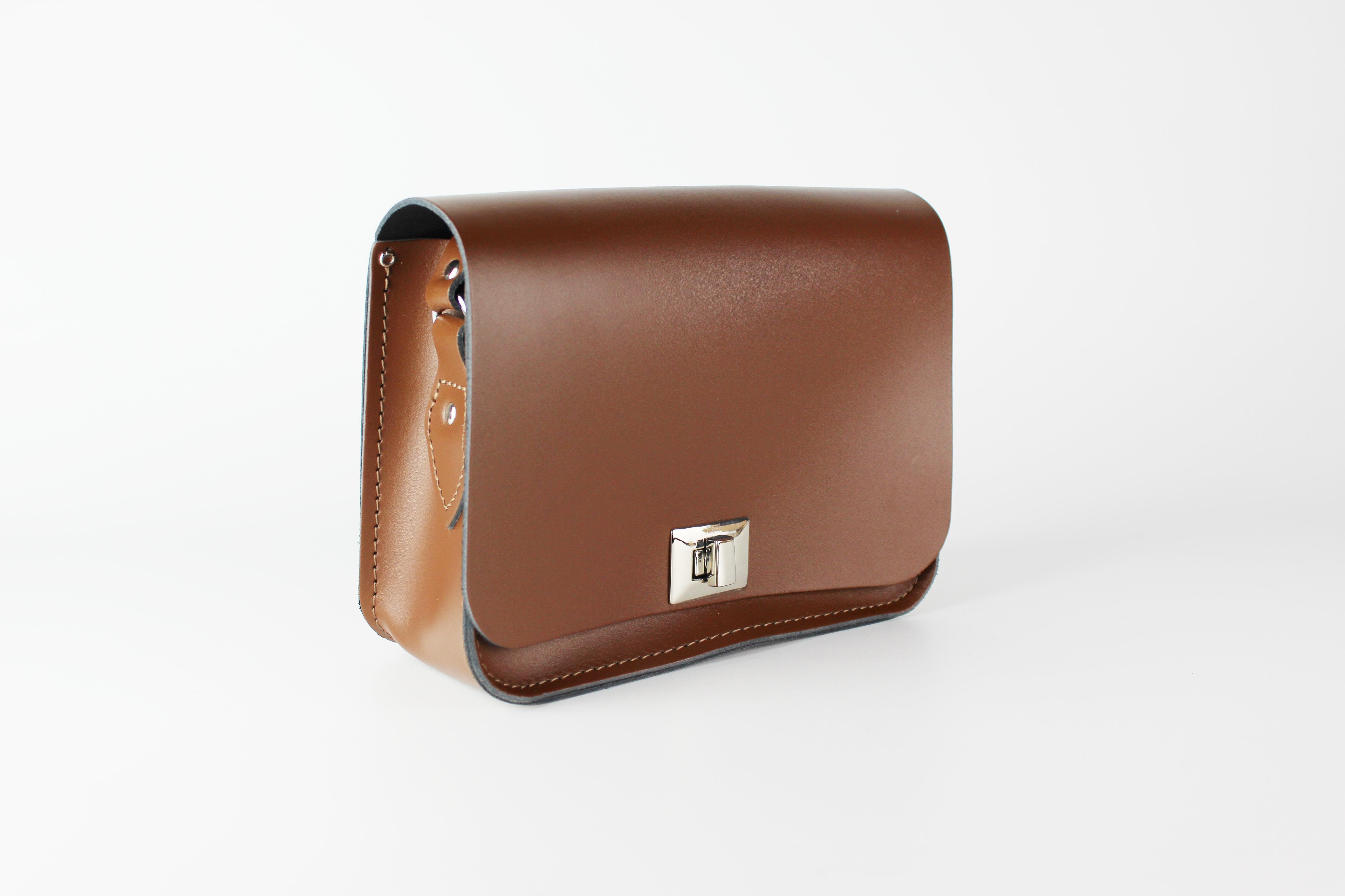 Chestnut Brown Pixie Bag Medium | The Leather Satchel Co.