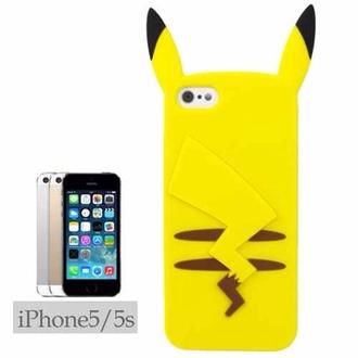 phone cover pokemon iphone 5 pikachu