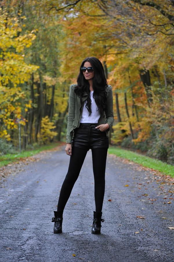 satisfashion jacket shirt shorts shoes