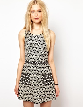 River Island | River Island 60's Style Dress at ASOS
