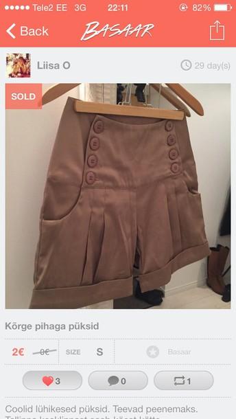 shorts high waisted