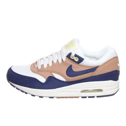 Nike - WMNS Air Max 1 - P Shale / Lyl Blue Sl Yellow Dmnd | hhv.de | shop