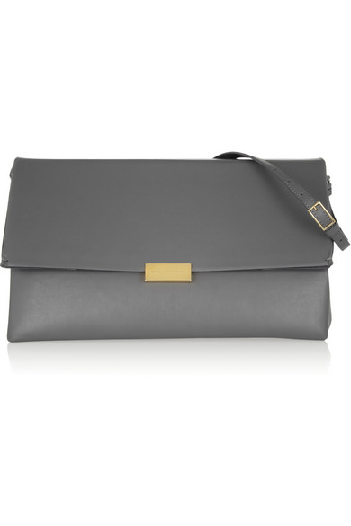 Stella McCartney | Faux leather shoulder bag | NET-A-PORTER.COM