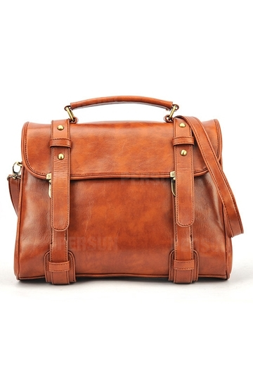 Vintage Belts Messager Bag [FPB390] - PersunMall.com