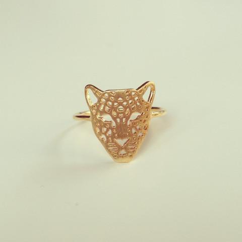 louun — Chic Tiger Gold Ring