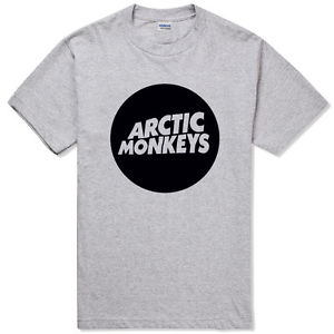 Arctic Monkeys Circle Logo Alex Turner Rock Band Music Indie Punk Unisex T Shirt | eBay