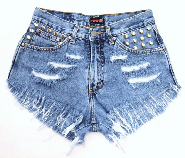 shorts jeans leci levi's High waisted shorts underwear high heels runwaydreamz studded dress ripped shorts