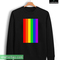 Rainbow line sweatshirt