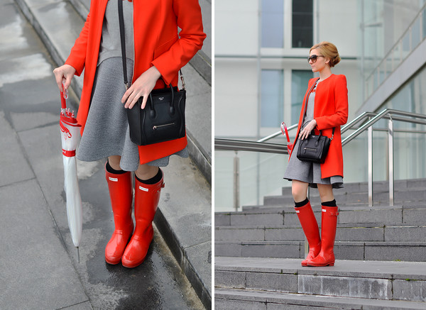 oh my vogue coat sweater dress shoes bag