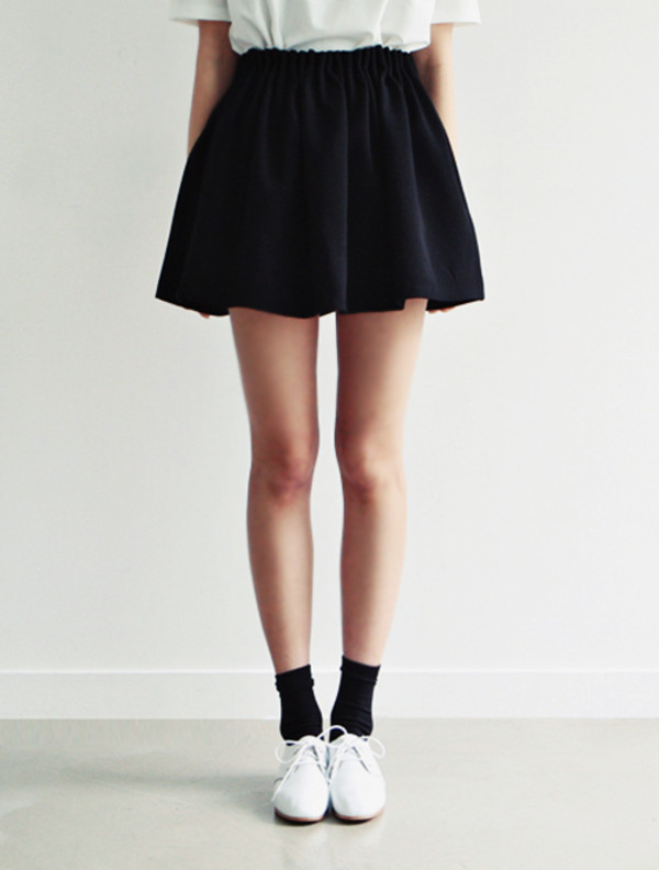 shoes skirt socks black navy skater skirt cute