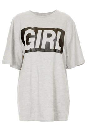 Girl Tee - T-Shirts - Tops  - Clothing - Topshop USA