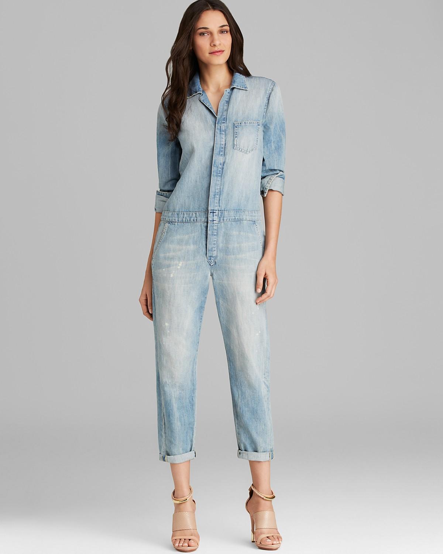 Joe's Jeans Jumpsuit - Relaxed Denim   Bloomingdale's