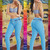 Turquoise Blue Tabbachi Jeans 7097 | Yallure