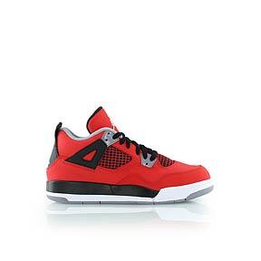 jordan - KIDS JORDAN 4 RETRO (PS) - sneakers high - rot/schwarz - KICKZ.COM