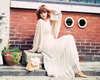 miss pandora dress sweater bag shoes