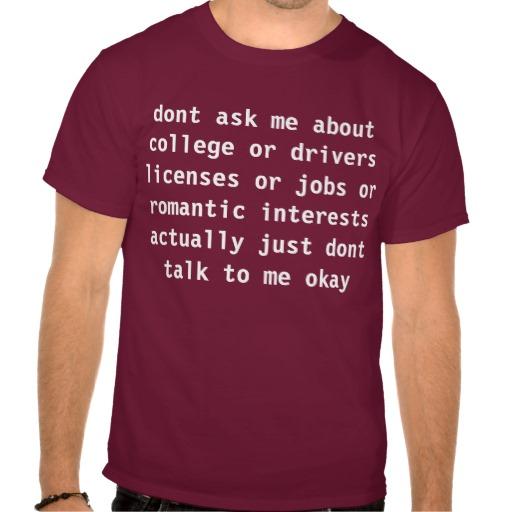 ne demandez pas t-shirt de Zazzle.fr