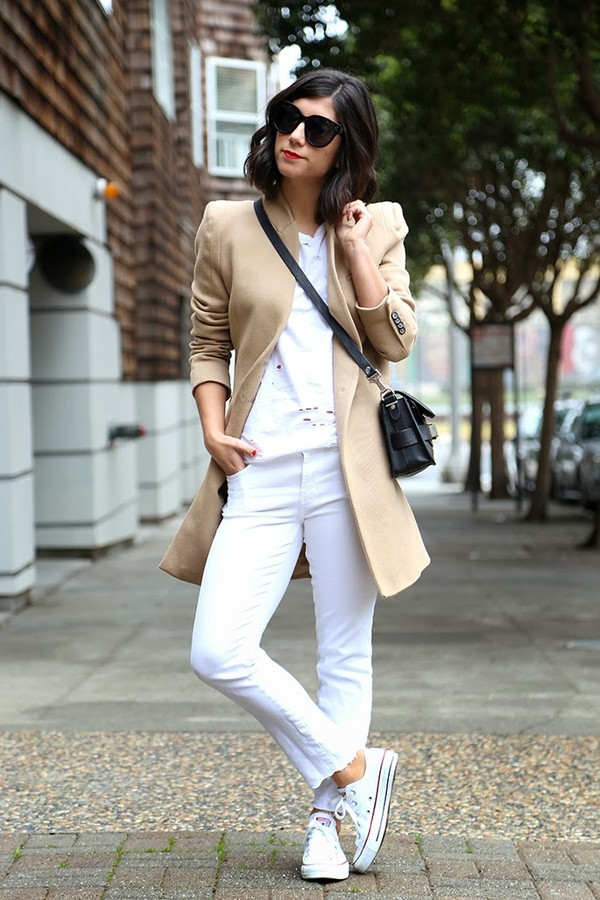this time tomorrow coat t-shirt jeans shoes bag