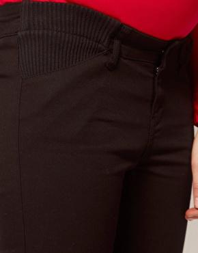 ASOS Maternity | ASOS Maternity Skinny Pants In Twill at ASOS