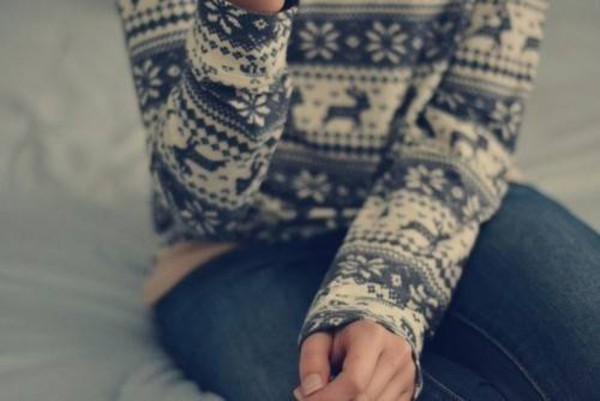 sweater grey christmas sweater