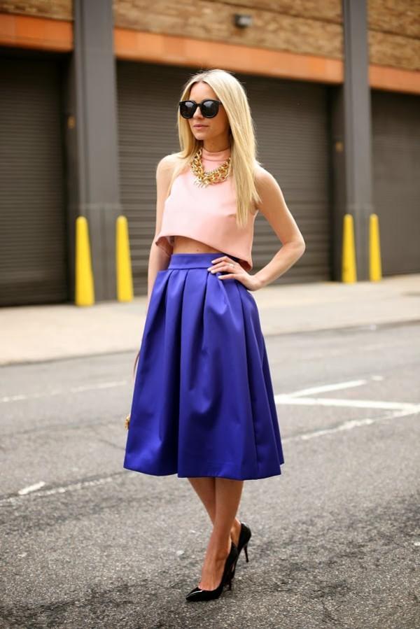atlantic pacific t-shirt skirt shoes sunglasses jewels dress blue skirt pink top top midi skirt navy skirt blogger