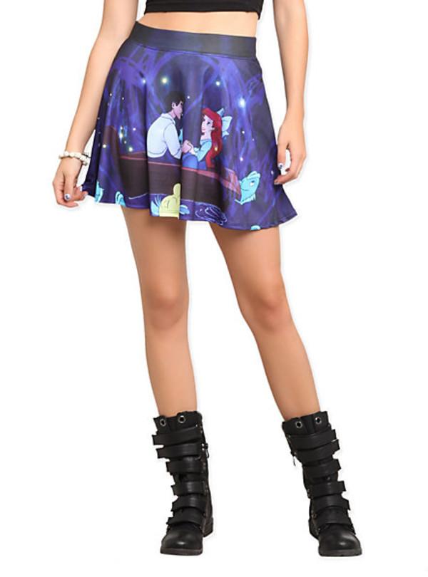 skirt dress princess ariel skirt