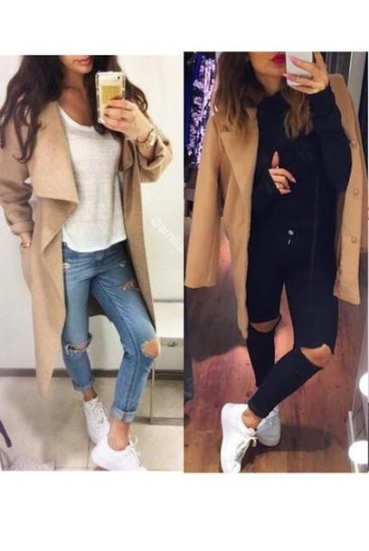 coat coat on the left