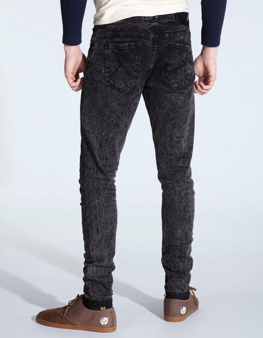 Buy Signature Mark II Acid Wash Jeans at Drop Dead Clothing