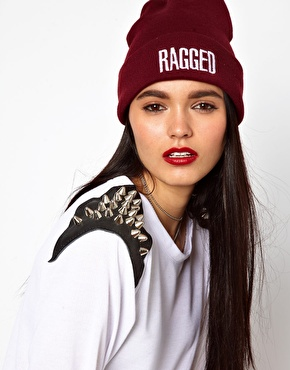The Ragged Priest | The Ragged Priest Logo Beanie at ASOS