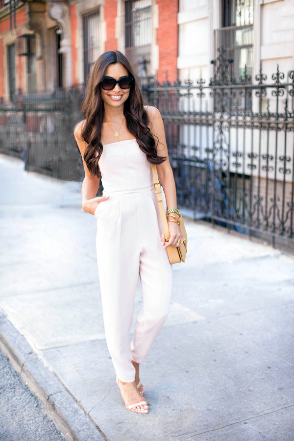 with love from kat jumpsuit shoes sunglasses bag jewels