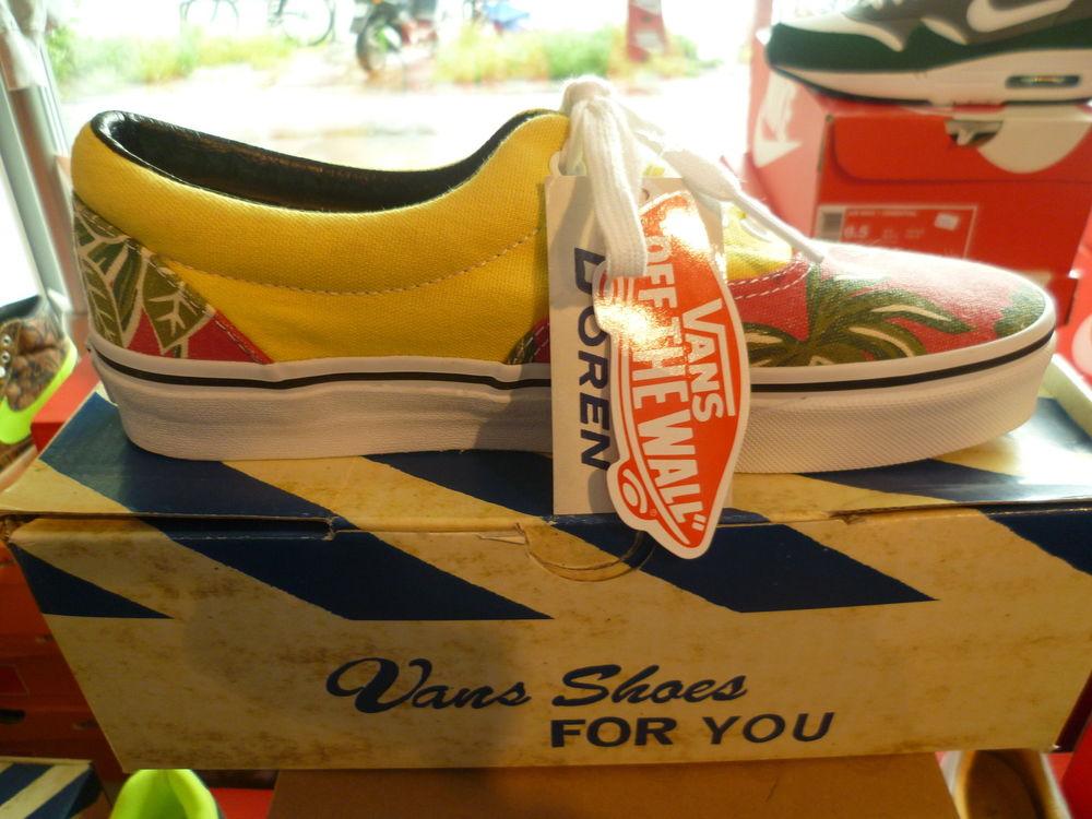 Vans Era Van Doren Hawaiian Red US 7 EUR 37 Neu Schnäppchen | eBay