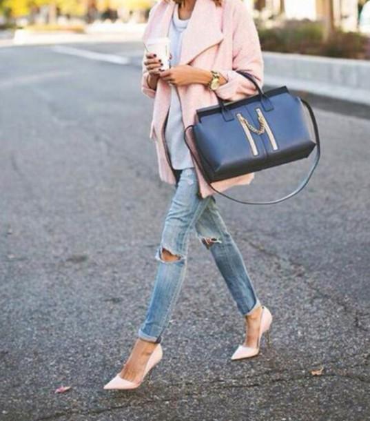 bag style pants shoes