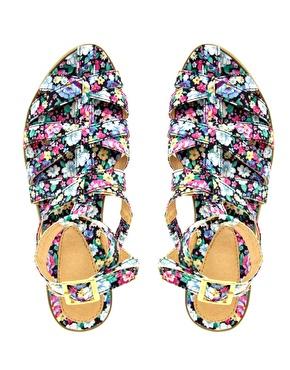 ASOS | ASOS FALCON Gladiator Flat Sandals at ASOS