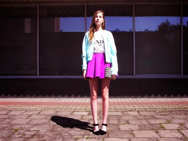 fashionectic jacket t-shirt bag skirt shoes