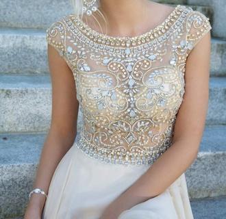 dress white white dress coral dress sparkles short cloth fashion