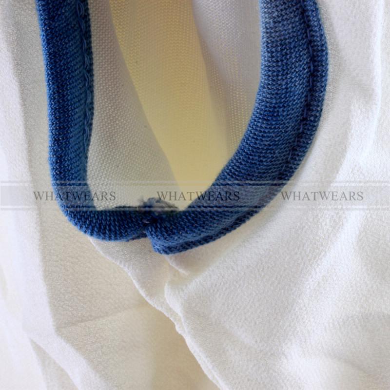 Women's Denim Stitching Vest Chiffon Blouse Sleeveless Top Loose Shirt A1300 IUK | eBay