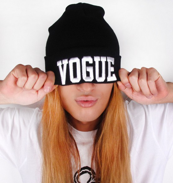 2013 New Arrivel Fashion Brand VOGUE Beanie Hat Football Skullies Wool Winter Warm Knitted Caps For Man Women-in Skullies & Beanies from Apparel & Accessories on Aliexpress.com