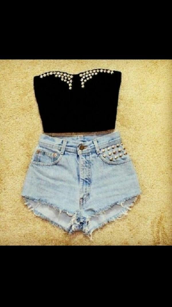 shirt hot pants short