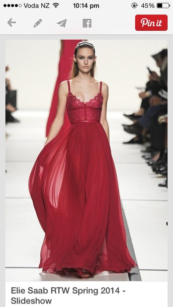 red dress couture dress formal event outfit dress