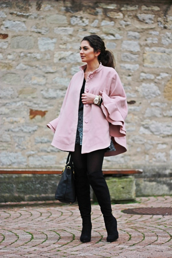 fashionhippieloves coat blouse skirt bag shoes jewels