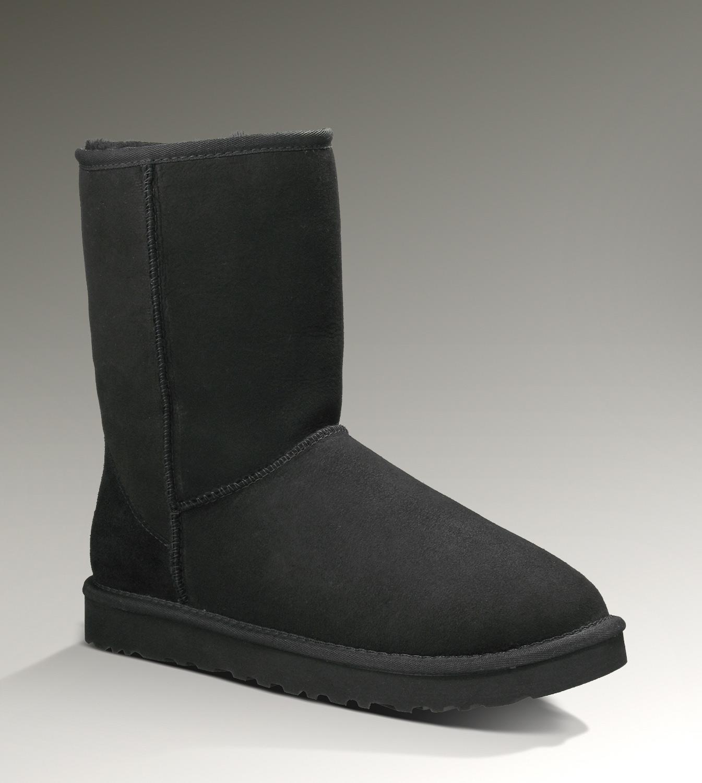 UGG Classic Short Stivali 5800 Nero [UGG Boots-345] - €92.54 : Ugg Boots Outlet online, footuggboots.com