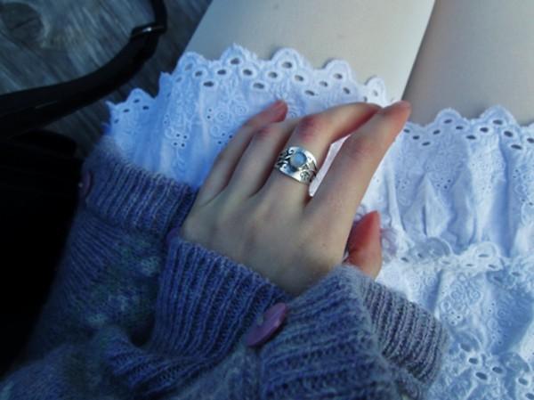 jewels ring gem jewerly silver jewelry gemstone tumblr