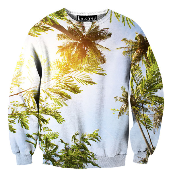 Palm Trees Sweater Unisex by Beloved Wear | Fab.com