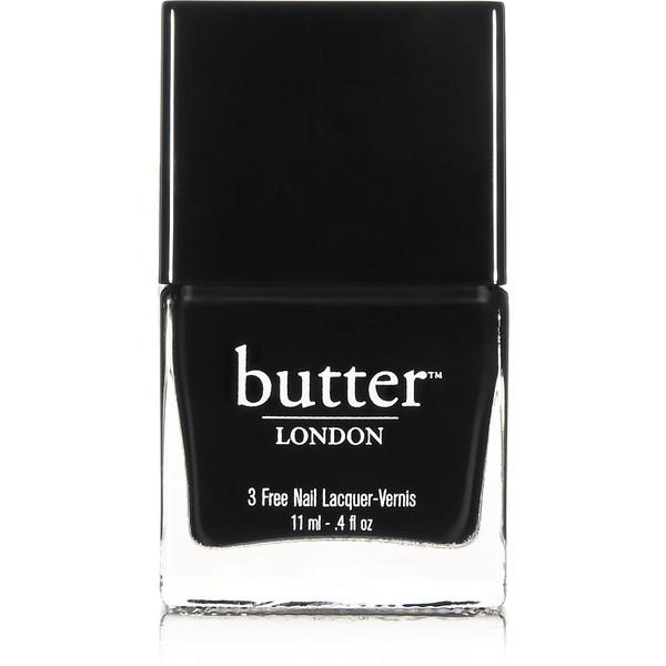Butter London Union Jack Black - Nail Polish, 11ml - Polyvore