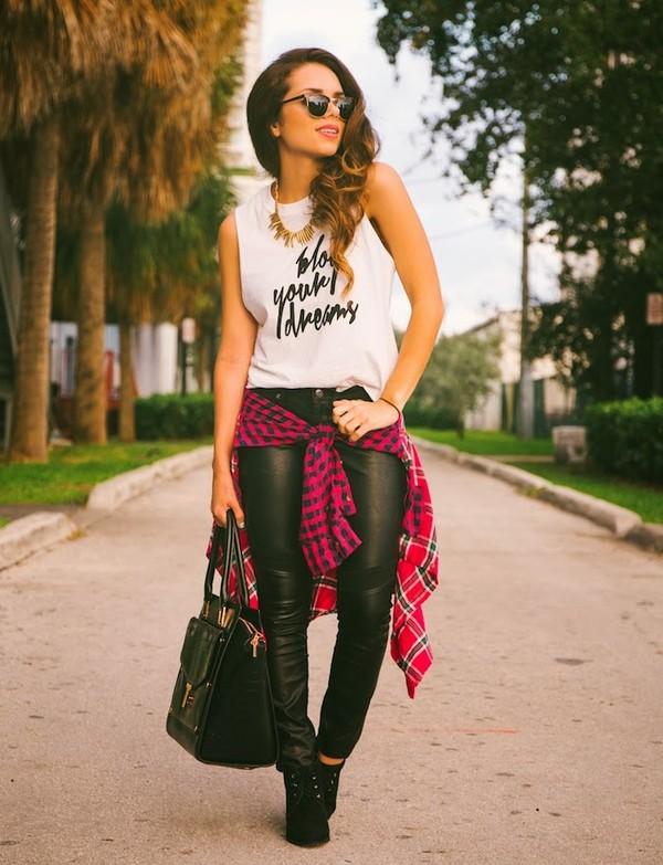 nany's klozet t-shirt shirt jeans bag shoes jewels sunglasses