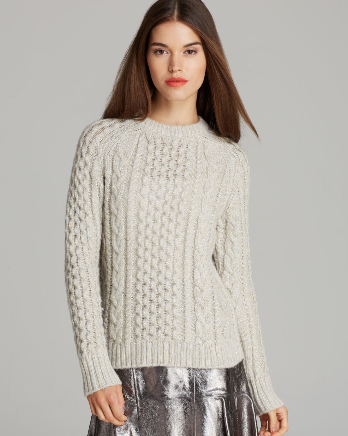 MARC BY MARC JACOBS Sweater - Sparkle Cable | Bloomingdale's