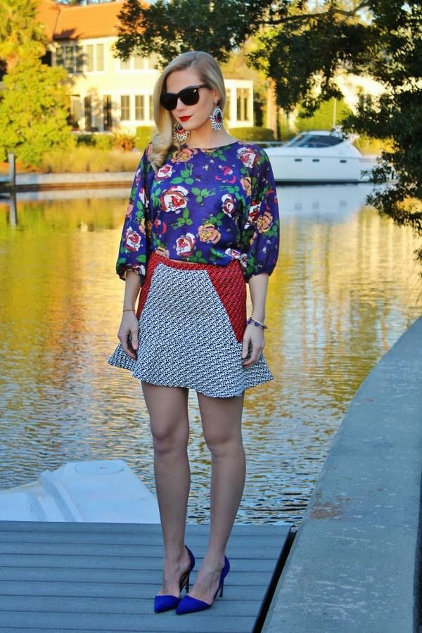 b soup t-shirt skirt jewels sunglasses shoes