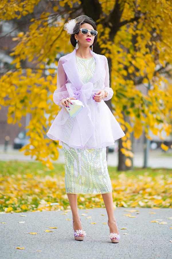 macademian girl coat dress bag shoes jewels sunglasses